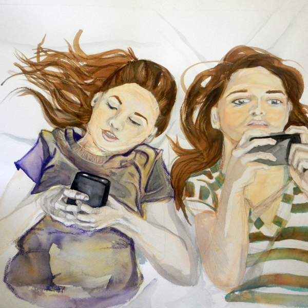 tweens_texting_525 by Anneke Hiatt